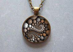 Pendant necklace  zen stone pendant by Iimagedeverre on Etsy, $10.00
