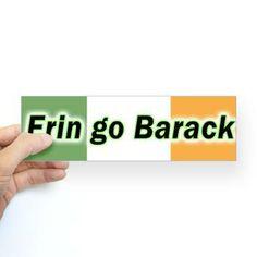 Erin go Barack bumper sticker