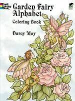 Garden Fairy Alphabet Coloring Book : Dover Coloring Books - Darcy May