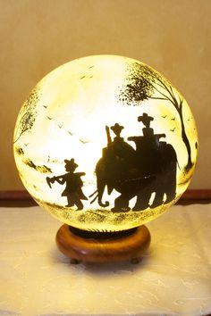 Safari Lamp, Love!!