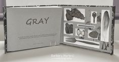 Book_Barbara Martin I called the book Gray, which I find is a softer spelling, and it contained not only my images but grey items I had found.