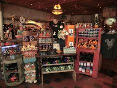 display's gift shop | Halloween merchandise on display in Frontierland. Photo by Adrienne ...