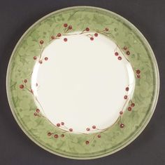 Lenox Holiday Gatherings Damask Salad Plate 5730600 | eBay