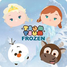 Krafty Nook: Tsum Tsum - Frozen Fan Art