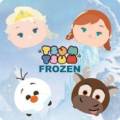 Krafty Nook: Tsum Tsum - Frozen Fan Art
