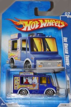 Hot Wheels 2009-113 Ice Cream Truck Red Line HW City Works 5-Spoke PURPLE 1:64 Scale 1:64 Scale