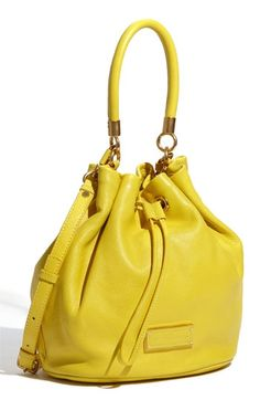 MARC BY MARC JACOBS 'Too Hot to Handle' Leather Drawstring Bag | Nordstrom - StyleSays