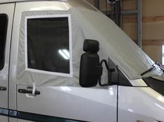 Windshield cover with screens for Sprinter.