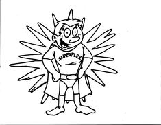 Superflex Coloring Page. For each character, Identify the Problem each Unthinkable Causes, and the Strategies Superflex uses to defeat the Unthinkable. Then have the participant color in their character. For Superflex, just list what strategies he uses to defeat the Unthinkables. Enjoy!