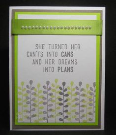tamijo-Dreams into Plans by tamijo - Cards and Paper Crafts at Splitcoaststampers card