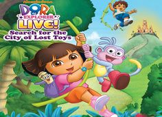 Win Dora the Explorer Family Pack (4 tickets): Go on an adventure with Dora the Explorer! | Local Parent