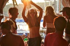 10 Reasons To Visit Croatia Before It's Over Run With Tourists Dancing at the bar in Croatia :)