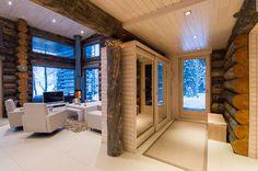 Villa Vuosselinrannan esittely - Vuokraamme luksustason huviloita ja huoneistoja Rukalta