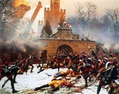 In the Battle of Leuthen, fought on 5 December Frederick the Great's Prussian army used maneuver and terrain to decisively defeat a much larger Austrian army under Charles of Lorraine, thus ensuring Prussian control of Silesia during the Seven Years' War. Military Art, Military History, American Civil War, American History, European History, Friedrich Ii, Frederick The Great, Continental Army, Seven Years' War