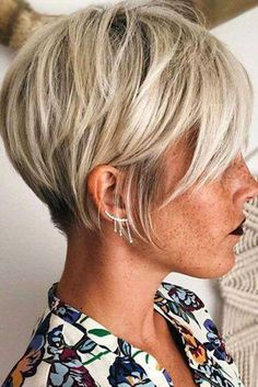 Today we have the most stylish 86 Cute Short Pixie Haircuts. We claim that you have never seen such elegant and eye-catching short hairstyles before. Pixie haircut, of course, offers a lot of options for the hair of the ladies'… Continue Reading → Thin Hair Haircuts, Cute Short Haircuts, Short Hairstyles For Women, Hairstyles Haircuts, Trendy Hairstyles, Newest Hairstyles, Wedding Hairstyles, Very Short Hair, Short Hair Cuts For Women