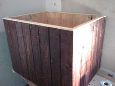 Japanese Ofuro-style Wooden Bathtub