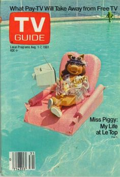 Miss Piggy cover TV Guide Aug 1981