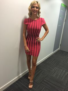 Rachel Riley flaunts hourglass figure in tight dress on 8 Out Of 10 Cats Does Countdown Tight Dresses, Sexy Dresses, Sexy Outfits, Rachel Riley Countdown, Sexy Older Women, Sexy Women, Racheal Riley, Hourglass Figure, Hot Dress