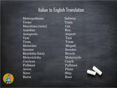 Learn Italian Online, How To Speak Italian, Italian Courses, Communication Problems, Learning Italian, Train, Italian Language Courses, Learn Italian Language, Strollers