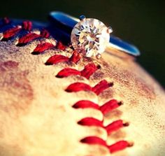 I could live without the baseball, but the ring is my dream ring