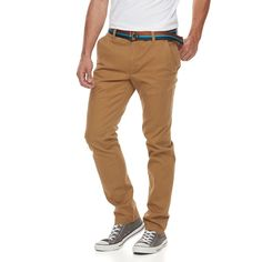 Men's Urban Pipeline® Slim-Fit Chino Pants, Size: 36X30, Med Beige
