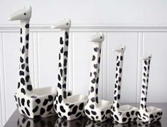 For your favorite chef! Giraffe measuring cups