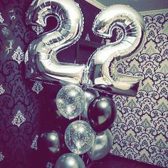 Happy Birthday 22, Happy Birthday To Me Quotes, 23rd Birthday, Happy Birthday Balloons, Birthday Quotes, Birthday Greetings Quotes, Beer Day, Cool Instagram Pictures, Number Balloons