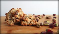 Cranberry Pistachio Oatmeal Quinoa Cookies