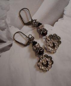 Sentimental Secrets - The Earrings  $70.00  www.parispanacheantiques.com