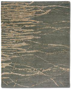 Grayish Green Handwoven Rug Tufenkian Carpets Woven Shades Of Blue