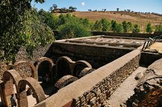 Arab Baths of Ronda, Spain