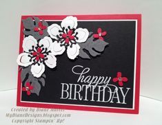 Birthday Blooms by Diane Malcor - Cards and Paper Crafts at Splitcoaststampers