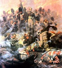 """""""The Guard dies but does not give up."""" Last fight battalion, rifle regiment of the Imperial Guard: Waterloo 1815, Battle Of Waterloo, Military Art, Military History, Napoleon French, Bataille De Waterloo, Seven Years' War, French Army, History Photos"""