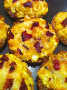 Make-Ahead Open-Faced Egg Sandwiches