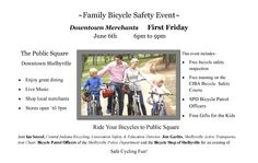 The Bicycle Shop: First Friday Event  6/6/2014 6:00 PM - 6/6/2014 9:00 PM
