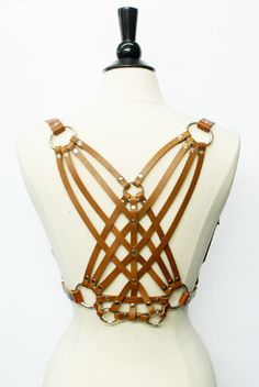 Image of Helios Harness - Honey Brown
