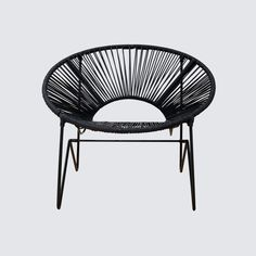 Acapulco Chair - Black & Black