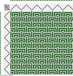 draft image: Figurierte Muster Pl. XXVIII Nr. 7 (b), Die färbige Gewebemusterung, Franz Donat, 7S, 6T
