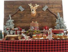 "Lumberjack / Birthday ""Baby Jonathan's Lumberjack party"" | Catch My Party"