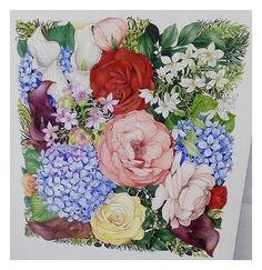 WEBSTA @ leiladuly - Just found this beauty when searching #Leiladuly and #Floribunda ...Coloured by @jokmatt ❤️❤️ it has made my day! Thanks for sharing it xxx