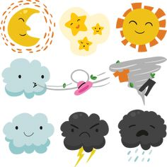 More than a million free vectors, PSD, photos and free icons. Exclusive freebies and all graphic resources that you need for your projects Adobe Illustrator, Cloud Drawing, Planets Wallpaper, Sun And Clouds, Clip Art, Moon Design, Stickers, Easy Drawings, Art Images