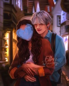 Taehyung Fanart, Jimin Fanart, Bts Taehyung, Anime Love Couple, Cute Anime Couples, Bts Girlfriends, Interracial Art, Bts Anime, Korean Boy