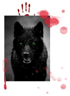 """""""Katherine Blood wolf side"""" by katherine-1967 on Polyvore featuring beauty"""