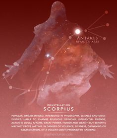 Ezio is the constellation Scorpius. Posted on butterflysleep.com.