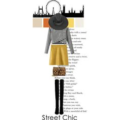 Street Chic by shica-du on Polyvore featuring Stuart Weitzman, Jérôme Dreyfuss, women's clothing, women's fashion, women, female, woman, misses, juniors and beautifulhalo