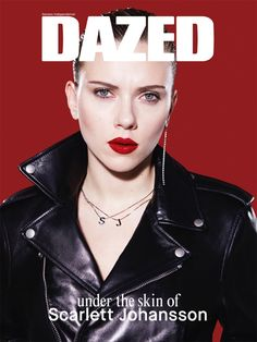 SPRING, 2014; Scarlett Johansson fronts the spring 2014 issue of DAZED with two special covers, shot by Benjamin Alexander-Huseby, styled by Jacob K.    Read all about the ‪#‎dazednewera‬: a bigger, bolder vision of fashion's future: http://www.dazeddigital.com/artsandculture/article/18973/1/scarlett-johansson-launches-dazed-vol-iv