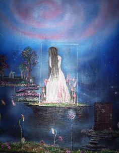The secret garden Oil on canvas