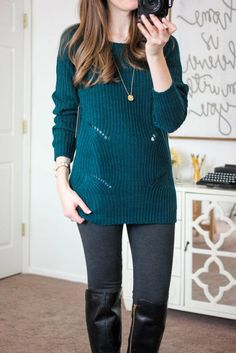 I love everything about this sweater! Color, details, length.  Would love to find it in a winter Fix!