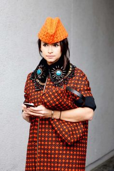 How to mix prints: style notes from the street gallery - Vogue Australia