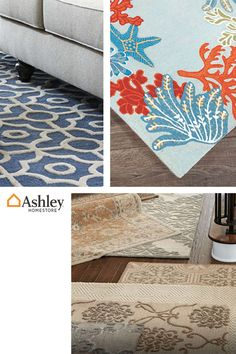 Rugs are an easy way to define a space or perk up a room while expressing your style. Find one that speaks to you, at AshleyFurnitureHomestore.com.